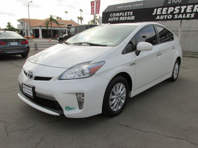 2012 Toyota Prius Plug-In Advanced in Costa Mesa, California 92627