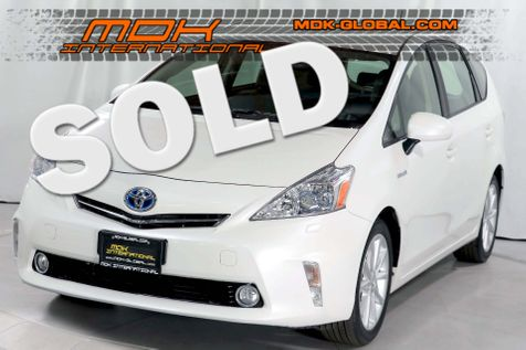 2012 Toyota Prius v Five - Nav - Back up cam - Leather - Apps in Los Angeles