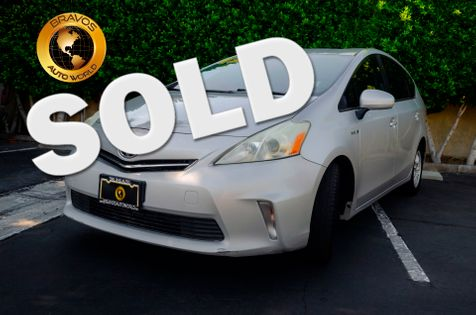 2012 Toyota Prius v Two in cathedral city