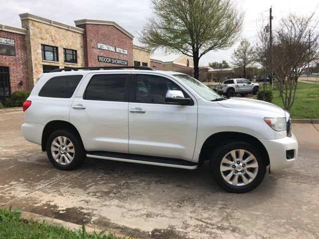 2012 Toyota Sequoia Platinum ONE OWNER in Carrollton, TX 75006