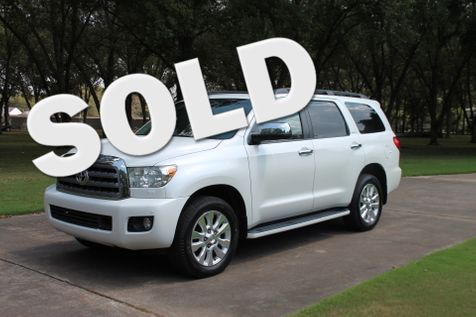 2012 Toyota Sequoia Platinum 4WD in Marion, Arkansas
