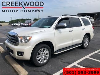 2012 Toyota Sequoia Platinum 4x4 Pearl White Leather Nav Sunroof TvDvd in Searcy, AR 72143