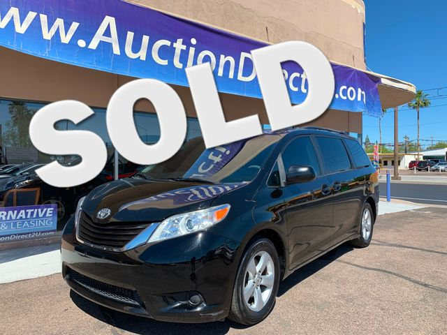 2012 Toyota Sienna LE  3 MONTH/3,000 MILE NATIONAL POWERTRAIN WARRANTY Mesa, Arizona