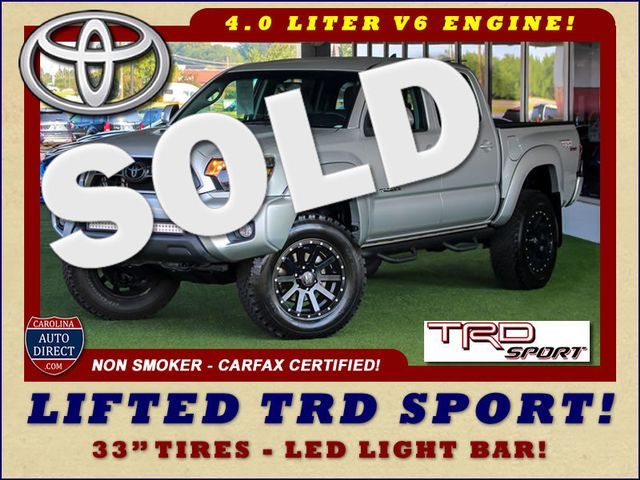 2012 Toyota Tacoma PreRunner Double Cab RWD - LIFTED TRD SPORT! Mooresville , NC