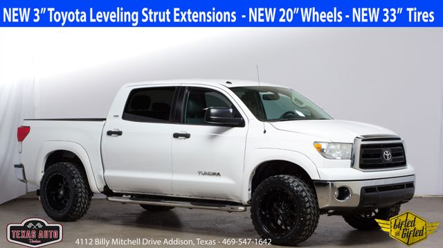2012 Toyota Tundra 2WD Truck New 3in RC Leveling Kit, New 20in Wheels, New 33in