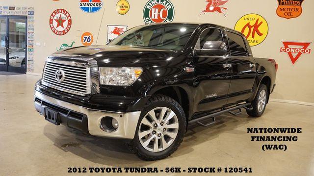 2012 Toyota Tundra Platinum 4X2 SUNROOF,NAV,HTD/COOL LTH,20'S,56K