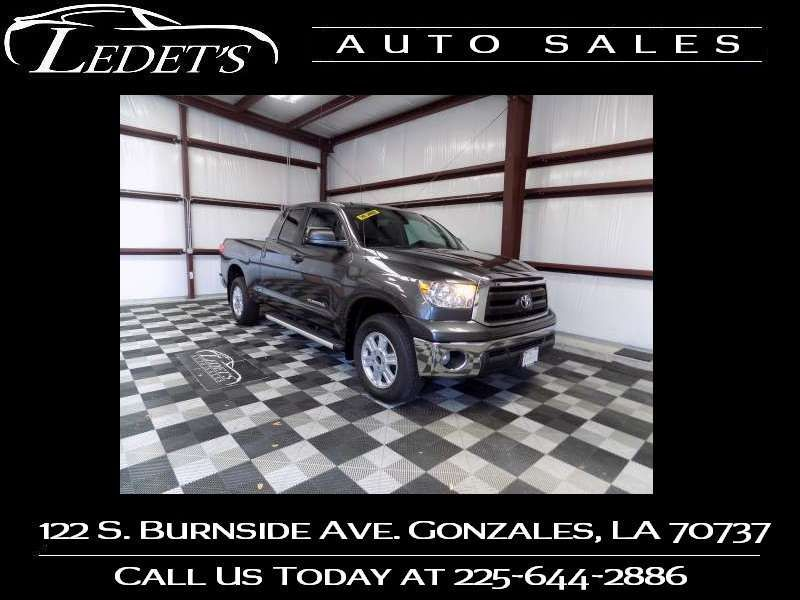 2012 Toyota Tundra DOUBLE CAB SR5 - Ledet's Auto Sales Gonzales_state_zip in Gonzales Louisiana