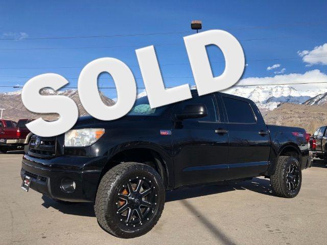 2012 Toyota Tundra Tundra-Grade CrewMax 5.7L FFV 4WD LINDON, UT