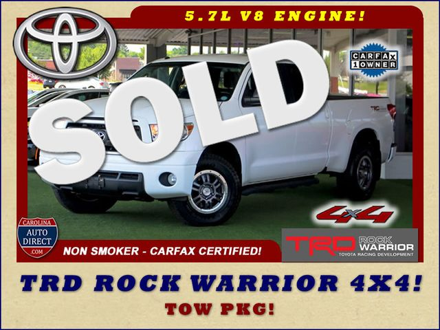 2012 Toyota Tundra Double Cab 4x4 TRD ROCK WARRIOR Mooresville , NC 0