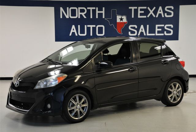 2012 Toyota Yaris SE 1 Owner in Dallas, TX 75247