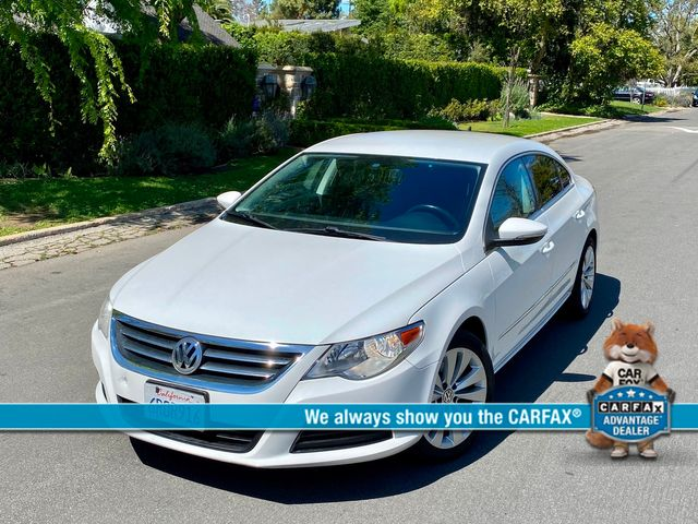 2012 Volkswagen CC SPORT PZEV 99K MLS AUTOMATIC LEATHER SERVICE RECORDS LEATHER XLNT CONDITION