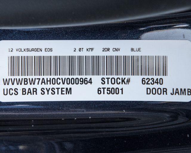 2012 Volkswagen Eos Komfort Burbank, CA 31