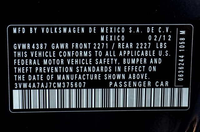 2012 Volkswagen GLI Autobahn PZEV Reseda, CA 39