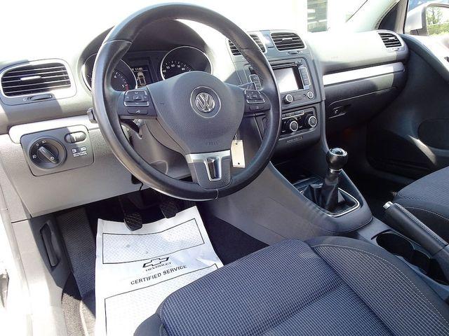 2012 Volkswagen Golf TDI w/Sunroof & Nav Madison, NC 26
