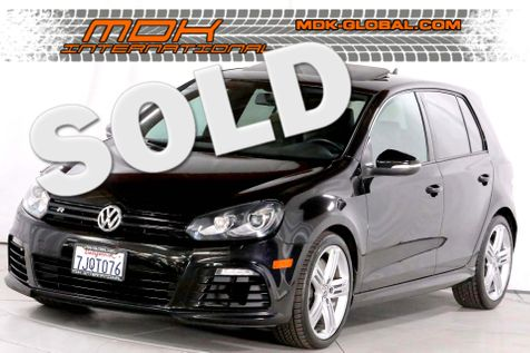 2012 Volkswagen Golf R - Manual - Leather - Sunroof - Nav in Los Angeles