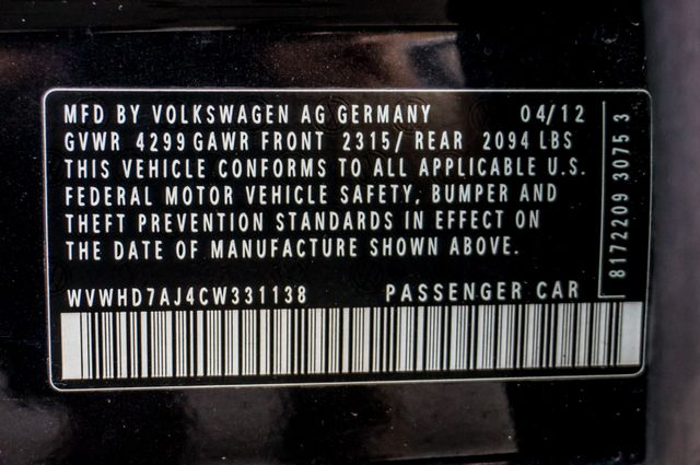 2012 Volkswagen GTI w/Sunroof & Navi PZEV Reseda, CA 41