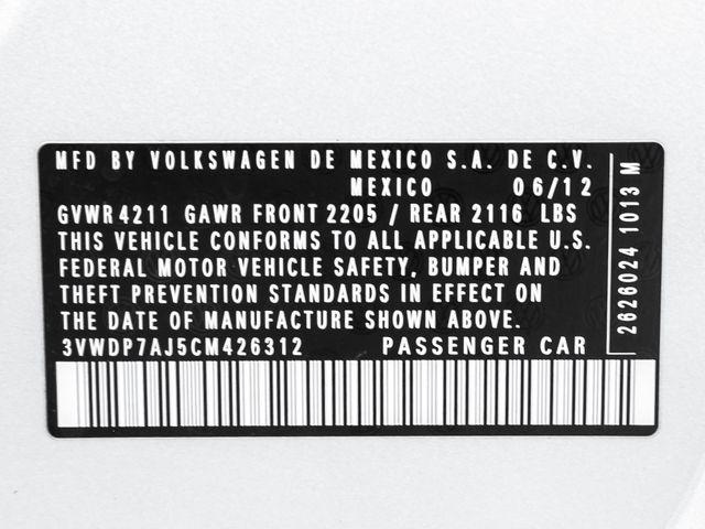 2012 Volkswagen Jetta SE w/Convenience & Sunroof PZEV Burbank, CA 25