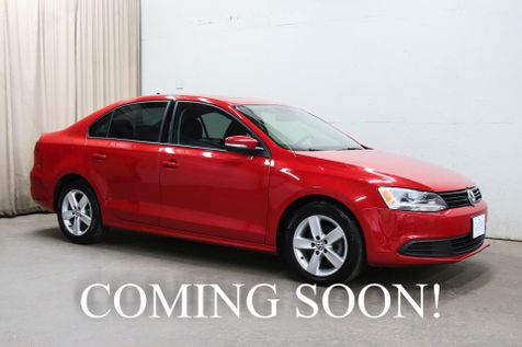 2012 Volkswagen Jetta TDI Premium Clean Diesel w/Touchscreen Fender Audio Infotainment, Heated Seats & Moonroof in Eau Claire