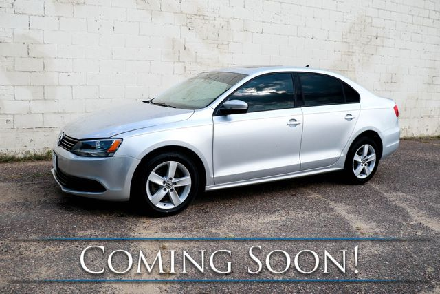 2012 Volkswagen Jetta TDI Clean Diesel w/Heated Seats, Moonroof, Keyless Start, Fender Premium Audio & Gets 42MPG in Eau Claire, Wisconsin 54703