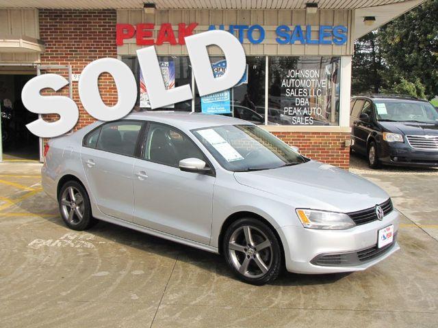 2012 Volkswagen Jetta Se Pzev Medina Ohio Peak Auto Sales