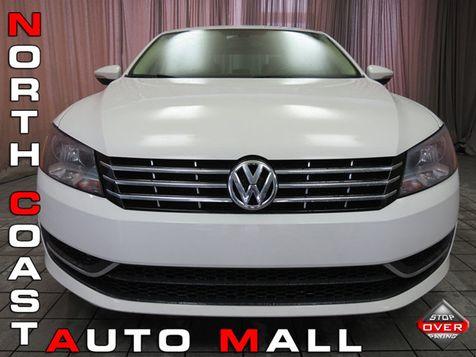 2012 Volkswagen Passat TDI SE w/Sunroof in Akron, OH