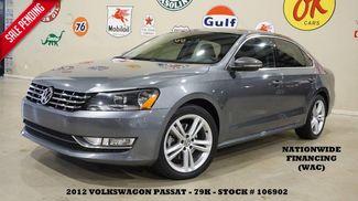 2012 Volkswagen Passat SE AUTO,V6,SUNROOF,NAV,HTD LTH,FENDER SYS,79K! in Carrollton TX, 75006