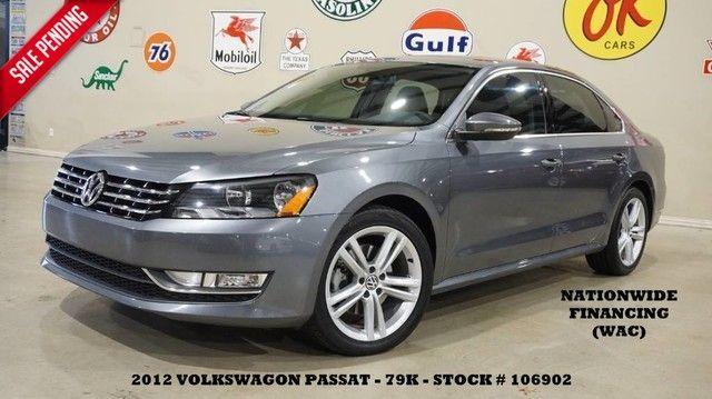 2012 Volkswagen Passat SE AUTO,V6,SUNROOF,NAV,HTD LTH,FENDER SYS,79K!