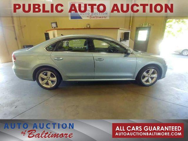 2012 Volkswagen Passat SE   JOPPA, MD   Auto Auction of Baltimore  in Joppa MD