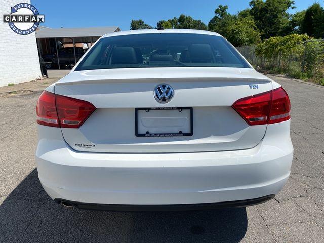 2012 Volkswagen Passat TDI SE w/Sunroof Madison, NC 2