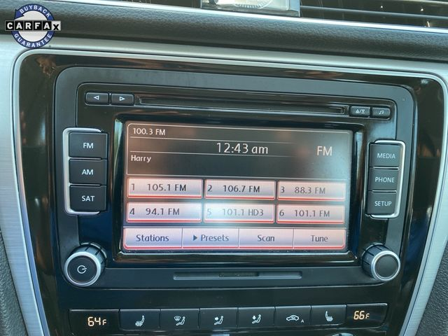 2012 Volkswagen Passat TDI SE w/Sunroof Madison, NC 31