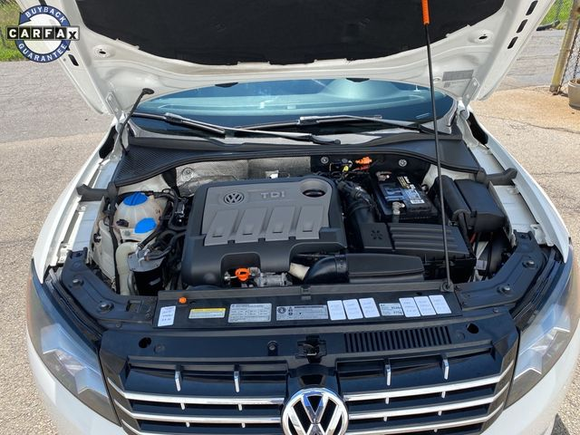 2012 Volkswagen Passat TDI SE w/Sunroof Madison, NC 36