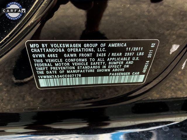 2012 Volkswagen Passat TDI SE w/Sunroof & Nav Madison, NC 37