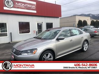 2012 Volkswagen Passat TDI SE w/Sunroof &38; Nav in Missoula, MT 59801