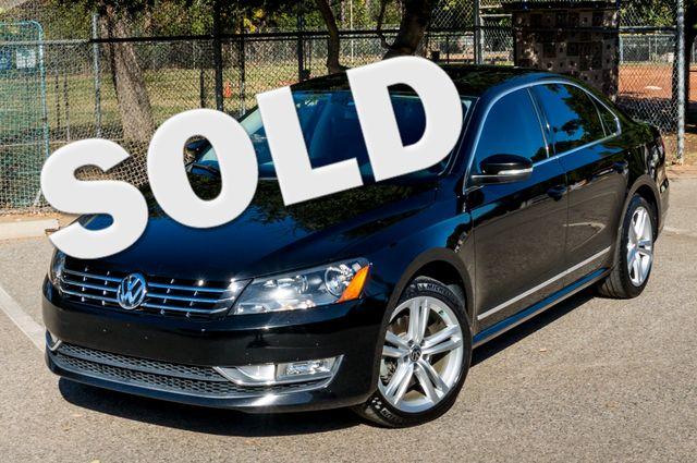 2012 Volkswagen Passat TDI SE w/Sunroof & Nav Reseda, CA 0