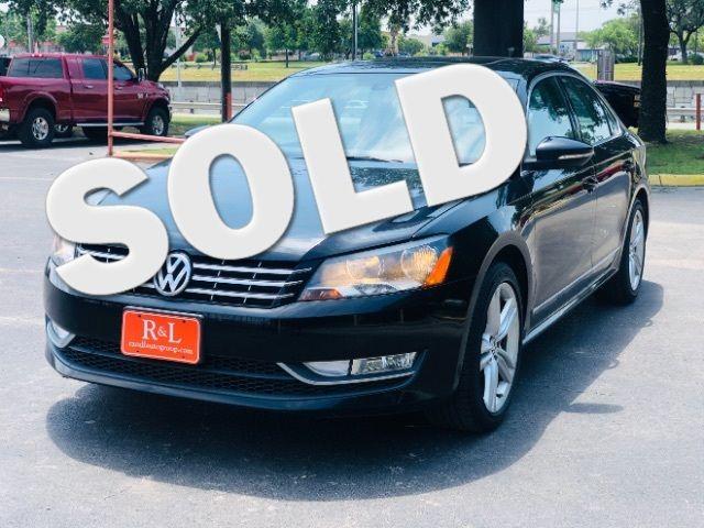 2012 Volkswagen Passat TDI SEL Premium in San Antonio, TX 78233