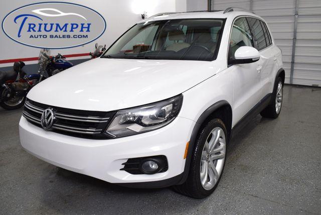 2012 Volkswagen Tiguan SEL w/Premium Nav