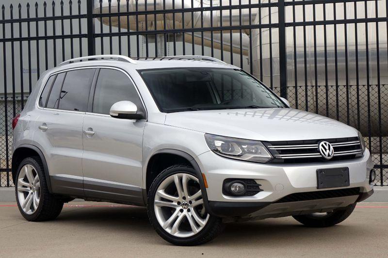 2012 Volkswagen Tiguan SEL* NAV* Pano Roof* BU CAM* EZ Finance*** | Plano, TX | Carrick's Autos in Plano TX