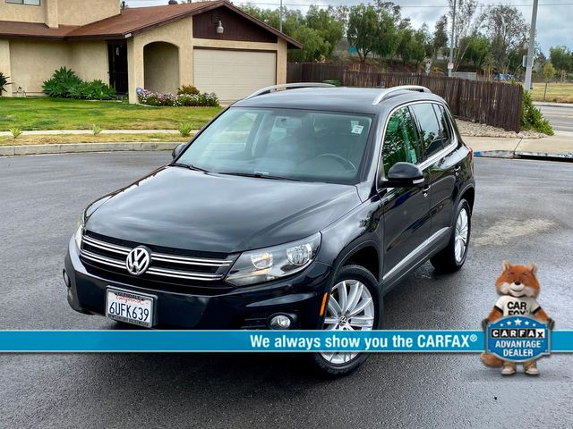 2012 Volkswagen TIGUAN SE AUTOMATIC LEATHER 72K MLS NEW TIRES SERVICE RECORDS