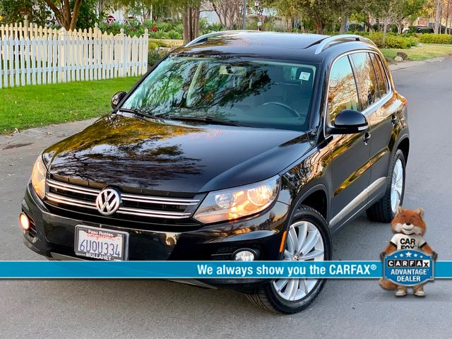 2012 Volkswagen TIGUAN SE NAVIGATION LEATHER PANORAMIC ROOF SERVICE RECORDS