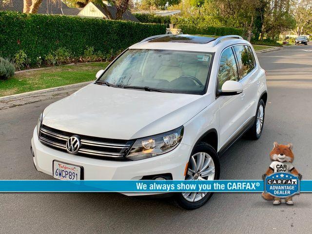2012 Volkswagen TIGUAN SE NAVIGATION SUNROOF 1-OWNER NEW TIRES SERVICE RECORDS