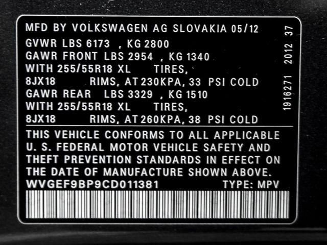 2012 Volkswagen Touareg Sport w/Nav Burbank, CA 27