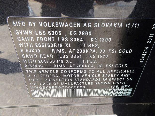 2012 Volkswagen Touareg Lux Madison, NC 55