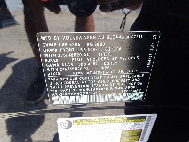 2012 Volkswagen Touareg Exec Madison, NC 50