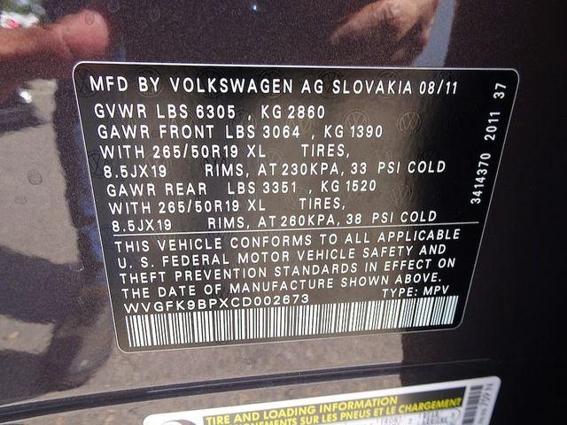 2012 Volkswagen Touareg Lux Madison, NC 47