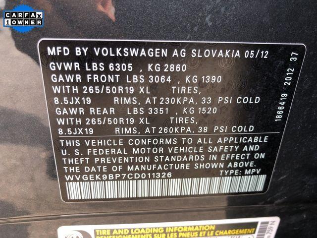 2012 Volkswagen Touareg Lux Madison, NC 49