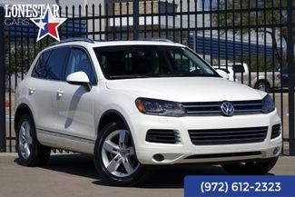 2012 Volkswagen Touareg Executive Clean Carfax Leather in Plano Texas, 75093