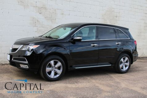 2013 Acura MDX AWD Luxury SUV w/3rd Row Seats, Technology Pkg, Navigation, Heated Seats and Bluetooth Audio in Eau Claire