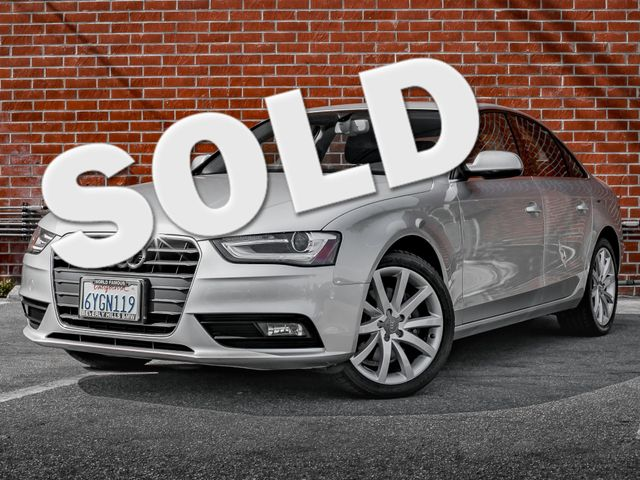 2013 Audi A4 Premium Plus Burbank, CA