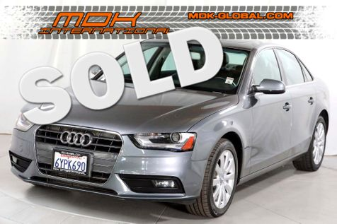2013 Audi A4 Premium - 1 owner - service records in Los Angeles