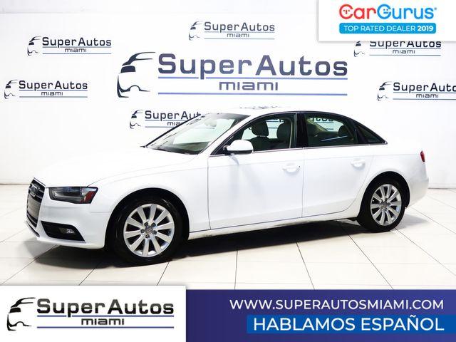 2013 Audi A4 Premium